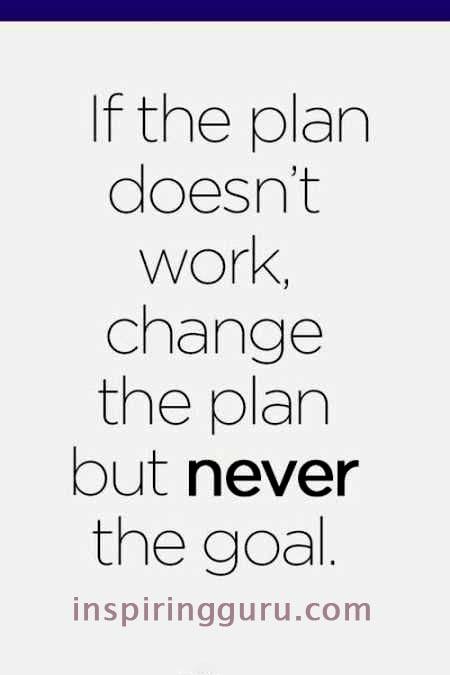 Plan doesn't work