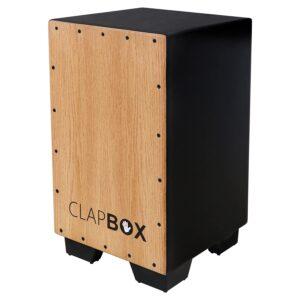 Clapbox Cajon CB11 -Black, Oak Wood
