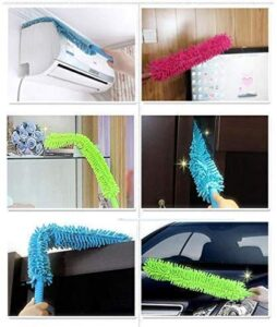 Foldable Cleaning Brush Feather Duster Magic Dust Cleaner