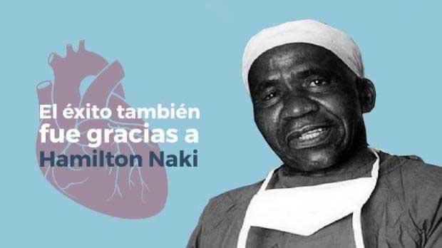 The surgeon Hamilton Naki